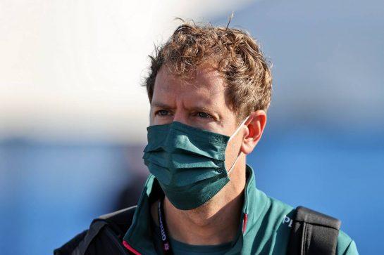 Sebastian Vettel (GER) Aston Martin F1 Team. 08.10.2021 Formula 1 World Championship, Rd 16, Turkish Grand Prix, Istanbul, Turkey, Practice Day. - www.xpbimages.com, EMail: requests@xpbimages.com © Copyright: Moy / XPB Images