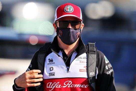 Kimi Raikkonen (FIN) Alfa Romeo Racing. 08.10.2021 Formula 1 World Championship, Rd 16, Turkish Grand Prix, Istanbul, Turkey, Practice Day. - www.xpbimages.com, EMail: requests@xpbimages.com © Copyright: Moy / XPB Images