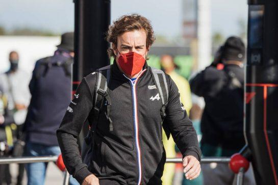 Fernando Alonso (ESP) Alpine F1 Team. 08.10.2021 Formula 1 World Championship, Rd 16, Turkish Grand Prix, Istanbul, Turkey, Practice Day. - www.xpbimages.com, EMail: requests@xpbimages.com © Copyright: Bearne / XPB Images