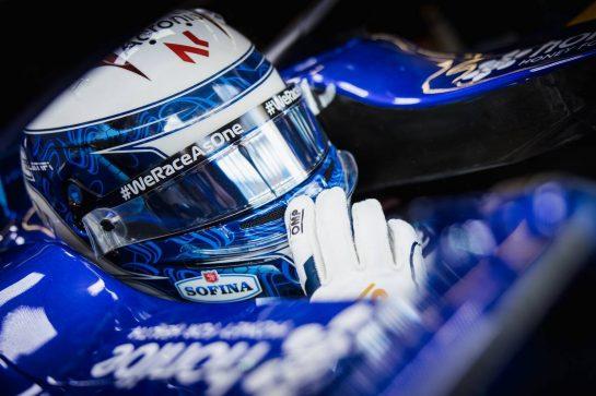 Nicholas Latifi (CDN) Williams Racing FW43B. 08.10.2021 Formula 1 World Championship, Rd 16, Turkish Grand Prix, Istanbul, Turkey, Practice Day. - www.xpbimages.com, EMail: requests@xpbimages.com © Copyright: Bearne / XPB Images