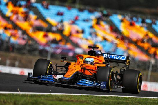 Daniel Ricciardo (AUS) McLaren MCL35M. 08.10.2021 Formula 1 World Championship, Rd 16, Turkish Grand Prix, Istanbul, Turkey, Practice Day. - www.xpbimages.com, EMail: requests@xpbimages.com © Copyright: Moy / XPB Images