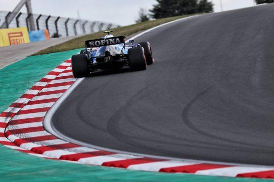 Nicholas Latifi (CDN) Williams Racing FW43B. 08.10.2021 Formula 1 World Championship, Rd 16, Turkish Grand Prix, Istanbul, Turkey, Practice Day. - www.xpbimages.com, EMail: requests@xpbimages.com © Copyright: Batchelor / XPB Images