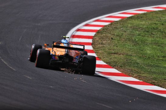 Lando Norris (GBR) McLaren MCL35M. 08.10.2021 Formula 1 World Championship, Rd 16, Turkish Grand Prix, Istanbul, Turkey, Practice Day. - www.xpbimages.com, EMail: requests@xpbimages.com © Copyright: Moy / XPB Images