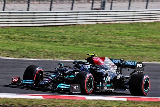 Valtteri Bottas (FIN) Mercedes AMG F1 W12. 08.10.2021 Formula 1 World Championship, Rd 16, Turkish Grand Prix, Istanbul, Turkey, Practice Day. - www.xpbimages.com, EMail: requests@xpbimages.com © Copyright: Batchelor / XPB Images