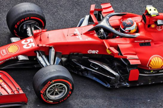 Carlos Sainz Jr (ESP) Ferrari SF-21. 08.10.2021 Formula 1 World Championship, Rd 16, Turkish Grand Prix, Istanbul, Turkey, Practice Day. - www.xpbimages.com, EMail: requests@xpbimages.com © Copyright: Bearne / XPB Images