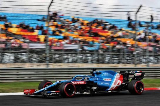 Fernando Alonso (ESP) Alpine F1 Team A521. 08.10.2021 Formula 1 World Championship, Rd 16, Turkish Grand Prix, Istanbul, Turkey, Practice Day. - www.xpbimages.com, EMail: requests@xpbimages.com © Copyright: Batchelor / XPB Images