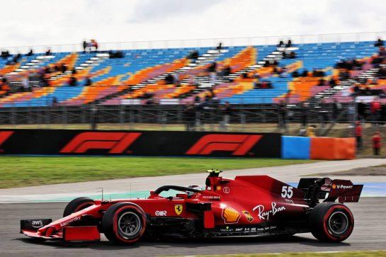 Carlos Sainz Jr (ESP) Ferrari SF-21. 08.10.2021 Formula 1 World Championship, Rd 16, Turkish Grand Prix, Istanbul, Turkey, Practice Day. - www.xpbimages.com, EMail: requests@xpbimages.com © Copyright: Batchelor / XPB Images