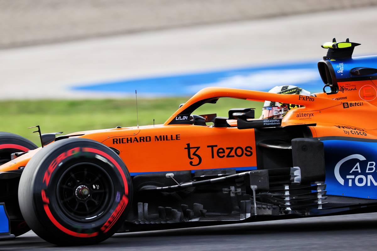 Lando Norris (GBR) McLaren MCL35M. 08.10.2021 Formula 1 World Championship, Rd 16, Turkish Grand Prix, Istanbul