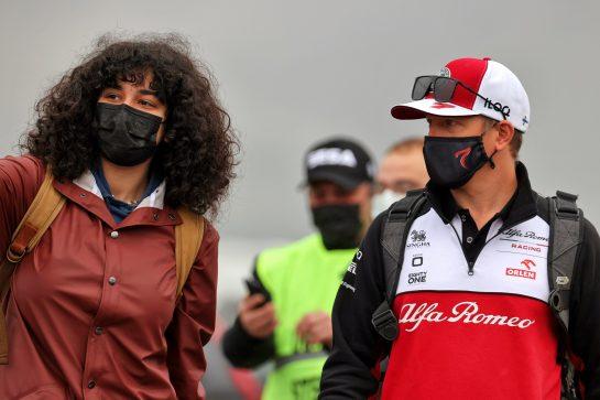 Kimi Raikkonen (FIN) Alfa Romeo Racing. 09.10.2021. Formula 1 World Championship, Rd 16, Turkish Grand Prix, Istanbul, Turkey, Qualifying Day. - www.xpbimages.com, EMail: requests@xpbimages.com © Copyright: Batchelor / XPB Images
