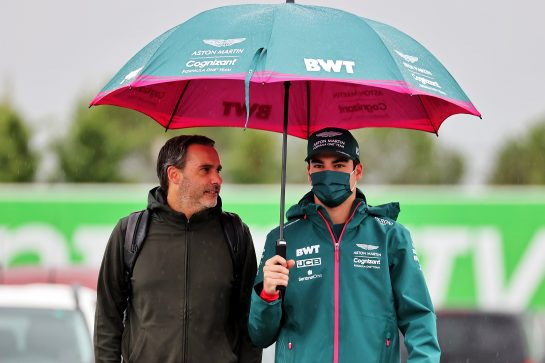 Lance Stroll (CDN) Aston Martin F1 Team. 09.10.2021. Formula 1 World Championship, Rd 16, Turkish Grand Prix, Istanbul, Turkey, Qualifying Day. - www.xpbimages.com, EMail: requests@xpbimages.com © Copyright: Batchelor / XPB Images