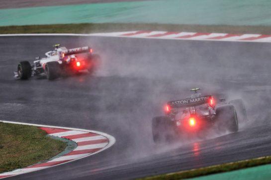 Sebastian Vettel (GER) Aston Martin F1 Team AMR21. 09.10.2021. Formula 1 World Championship, Rd 16, Turkish Grand Prix, Istanbul, Turkey, Qualifying Day. - www.xpbimages.com, EMail: requests@xpbimages.com © Copyright: Moy / XPB Images