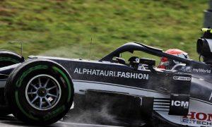 Gasly edges Verstappen in damp final practice in Turkey