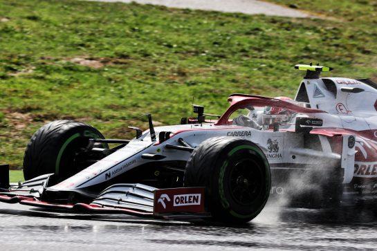 Antonio Giovinazzi (ITA) Alfa Romeo Racing C41. 09.10.2021. Formula 1 World Championship, Rd 16, Turkish Grand Prix, Istanbul, Turkey, Qualifying Day. - www.xpbimages.com, EMail: requests@xpbimages.com © Copyright: Batchelor / XPB Images