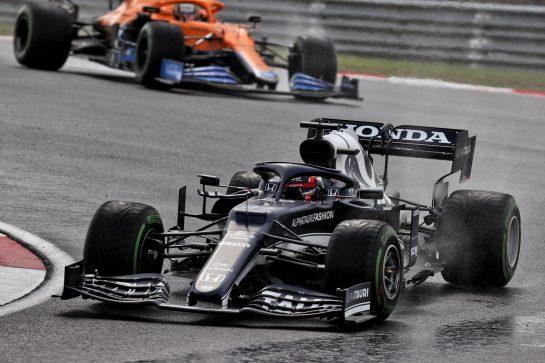 Yuki Tsunoda (JPN) AlphaTauri AT02. 09.10.2021. Formula 1 World Championship, Rd 16, Turkish Grand Prix, Istanbul, Turkey, Qualifying Day. - www.xpbimages.com, EMail: requests@xpbimages.com © Copyright: Batchelor / XPB Images