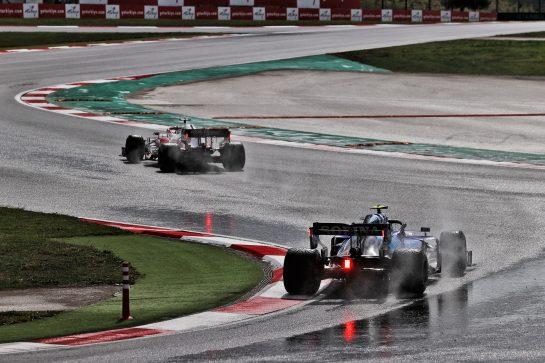 Nicholas Latifi (CDN) Williams Racing FW43B. 09.10.2021. Formula 1 World Championship, Rd 16, Turkish Grand Prix, Istanbul, Turkey, Qualifying Day. - www.xpbimages.com, EMail: requests@xpbimages.com © Copyright: Moy / XPB Images