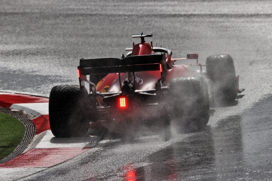 Carlos Sainz Jr (ESP) Ferrari SF-21. 09.10.2021. Formula 1 World Championship, Rd 16, Turkish Grand Prix, Istanbul, Turkey, Qualifying Day. - www.xpbimages.com, EMail: requests@xpbimages.com © Copyright: Moy / XPB Images