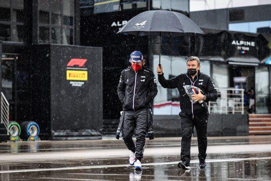 Fernando Alonso (ESP) Alpine F1 Team. 09.10.2021. Formula 1 World Championship, Rd 16, Turkish Grand Prix, Istanbul, Turkey, Qualifying Day. - www.xpbimages.com, EMail: requests@xpbimages.com © Copyright: Charniaux / XPB Images