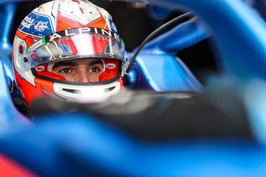 Esteban Ocon (FRA) Alpine F1 Team A521. 09.10.2021. Formula 1 World Championship, Rd 16, Turkish Grand Prix, Istanbul, Turkey, Qualifying Day. - www.xpbimages.com, EMail: requests@xpbimages.com © Copyright: Charniaux / XPB Images