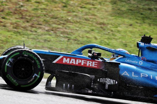 Fernando Alonso (ESP) Alpine F1 Team A521. 09.10.2021. Formula 1 World Championship, Rd 16, Turkish Grand Prix, Istanbul, Turkey, Qualifying Day. - www.xpbimages.com, EMail: requests@xpbimages.com © Copyright: Batchelor / XPB Images