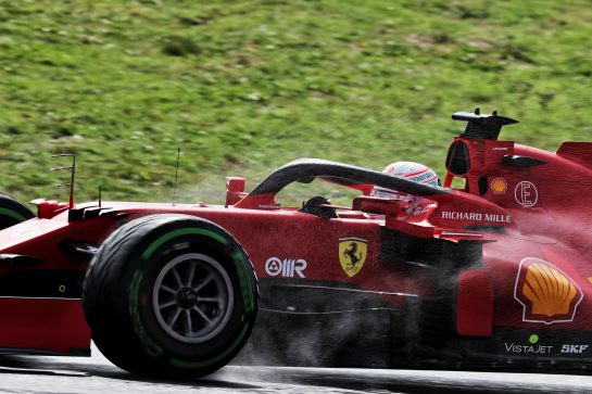 Charles Leclerc (MON) Ferrari SF-21. 09.10.2021. Formula 1 World Championship, Rd 16, Turkish Grand Prix, Istanbul, Turkey, Qualifying Day. - www.xpbimages.com, EMail: requests@xpbimages.com © Copyright: Batchelor / XPB Images