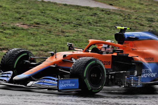 Lando Norris (GBR) McLaren MCL35M. 09.10.2021. Formula 1 World Championship, Rd 16, Turkish Grand Prix, Istanbul, Turkey, Qualifying Day. - www.xpbimages.com, EMail: requests@xpbimages.com © Copyright: Batchelor / XPB Images