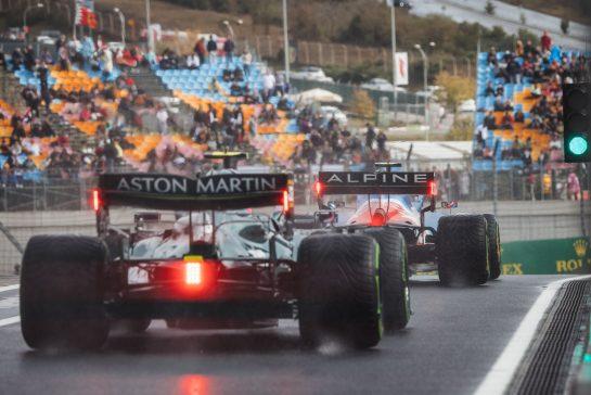 Esteban Ocon (FRA) Alpine F1 Team A521. 09.10.2021. Formula 1 World Championship, Rd 16, Turkish Grand Prix, Istanbul, Turkey, Qualifying Day. - www.xpbimages.com, EMail: requests@xpbimages.com © Copyright: Bearne / XPB Images