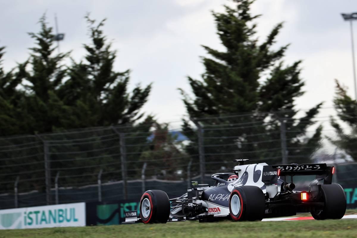 Yuki Tsunoda (JPN) AlphaTauri AT02.  09.10.2021.  Campeonato del Mundo de Fórmula 1, Rd 16, Gran Premio de Turquía, Estambul