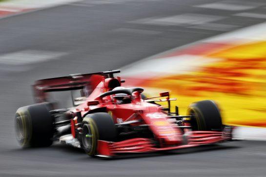 Charles Leclerc (MON) Ferrari SF-21. 09.10.2021. Formula 1 World Championship, Rd 16, Turkish Grand Prix, Istanbul, Turkey, Qualifying Day. - www.xpbimages.com, EMail: requests@xpbimages.com © Copyright: Moy / XPB Images