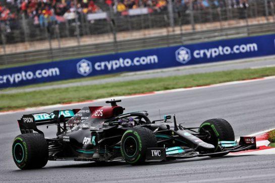 Lewis Hamilton (GBR) Mercedes AMG F1 W12. 10.10.2021. Formula 1 World Championship, Rd 16, Turkish Grand Prix, Istanbul, Turkey, Race Day. - www.xpbimages.com, EMail: requests@xpbimages.com © Copyright: Batchelor / XPB Images