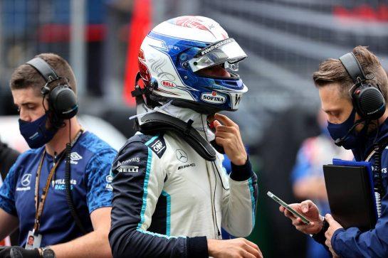 Nicholas Latifi (CDN) Williams Racing FW43B.10.10.2021. Formula 1 World Championship, Rd 16, Turkish Grand Prix, Istanbul, Turkey, Race Day.- www.xpbimages.com, EMail: requests@xpbimages.com © Copyright: Batchelor / XPB Images