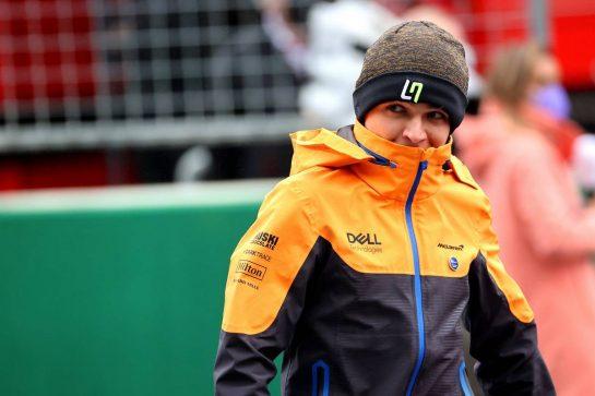 Lando Norris (GBR) McLaren MCL35M.10.10.2021. Formula 1 World Championship, Rd 16, Turkish Grand Prix, Istanbul, Turkey, Race Day.- www.xpbimages.com, EMail: requests@xpbimages.com © Copyright: Batchelor / XPB Images
