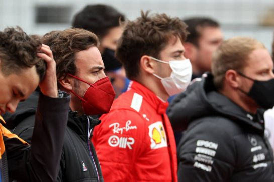 Fernando Alonso (ESP) Alpine F1 Team A521.10.10.2021. Formula 1 World Championship, Rd 16, Turkish Grand Prix, Istanbul, Turkey, Race Day.- www.xpbimages.com, EMail: requests@xpbimages.com © Copyright: Batchelor / XPB Images