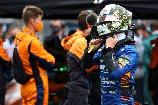 Lando Norris (GBR) McLaren.10.10.2021. Formula 1 World Championship, Rd 16, Turkish Grand Prix, Istanbul, Turkey, Race Day.- www.xpbimages.com, EMail: requests@xpbimages.com © Copyright: Batchelor / XPB Images