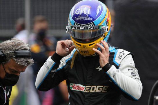 Fernando Alonso (ESP) Alpine F1 Team.10.10.2021. Formula 1 World Championship, Rd 16, Turkish Grand Prix, Istanbul, Turkey, Race Day.- www.xpbimages.com, EMail: requests@xpbimages.com © Copyright: Batchelor / XPB Images