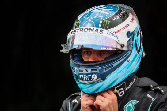 Valtteri Bottas (FIN) Mercedes AMG F1. 10.10.2021. Formula 1 World Championship, Rd 16, Turkish Grand Prix, Istanbul, Turkey, Race Day. - www.xpbimages.com, EMail: requests@xpbimages.com © Copyright: Charniaux / XPB Images
