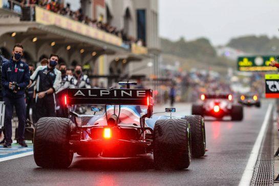 Fernando Alonso (ESP) Alpine F1 Team A521. 10.10.2021. Formula 1 World Championship, Rd 16, Turkish Grand Prix, Istanbul, Turkey, Race Day. - www.xpbimages.com, EMail: requests@xpbimages.com © Copyright: Charniaux / XPB Images