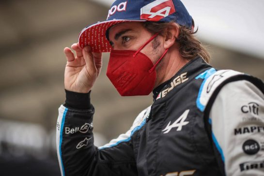 Fernando Alonso (ESP) Alpine F1 Team. 10.10.2021. Formula 1 World Championship, Rd 16, Turkish Grand Prix, Istanbul, Turkey, Race Day. - www.xpbimages.com, EMail: requests@xpbimages.com © Copyright: Charniaux / XPB Images