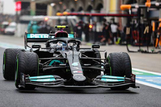 Valtteri Bottas (FIN) Mercedes AMG F1 W12. 10.10.2021. Formula 1 World Championship, Rd 16, Turkish Grand Prix, Istanbul, Turkey, Race Day. - www.xpbimages.com, EMail: requests@xpbimages.com © Copyright: Charniaux / XPB Images