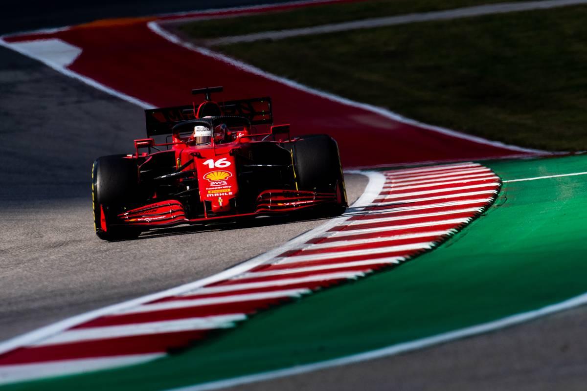 Charles Leclerc (MON) Ferrari SF-21. 22.10.2021. Formula 1 World Championship, Rd 17, United States Grand Prix, Austin
