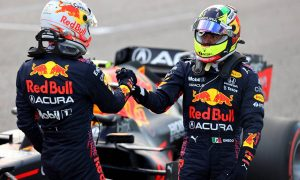 Palmer: US GP showed 'bizarre dynamic' between Red Bull drivers
