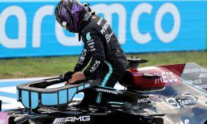 2nd for qualfying, Lewis Hamilton (GBR) Mercedes AMG F1 W12. 23.10.2021. Formula 1 World Championship, Rd 17, United States Grand Prix, Austin