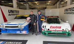 Brown and Brundle go historic racing in Estoril