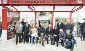 Graz inaugurates its 'Jochen Rindt-Platz' with family and friends