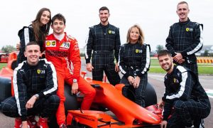 Leclerc treats family and friends to 3-seater track day