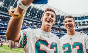 Williams' present and future quarterbacks root for Dolphins